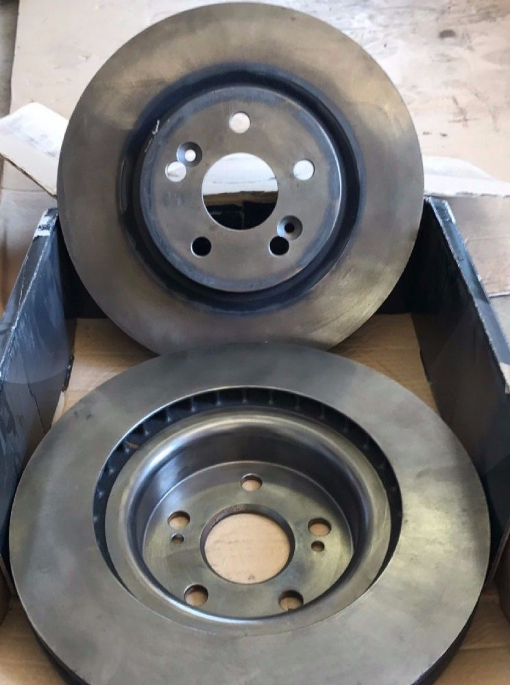 Renault Clio III 197 / 200  Set of Front Brake Discs (non drilled) brembo